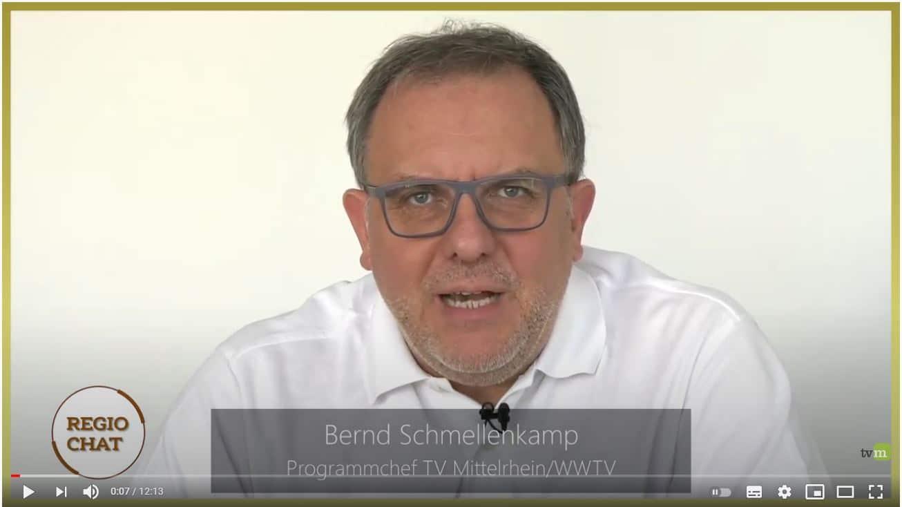 Bernd Schmellenkamp Programmchef TV Mittelrhein WWTV