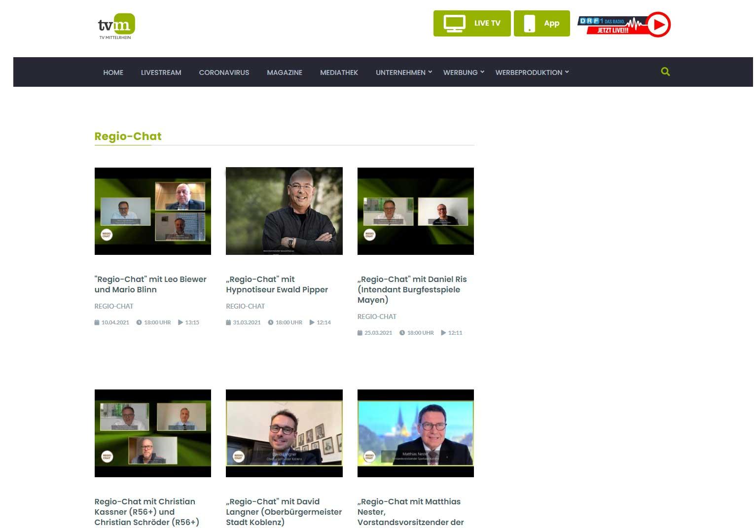 Hypnose-Experte-Ewald Pipper Interview TV Mittelrhein
